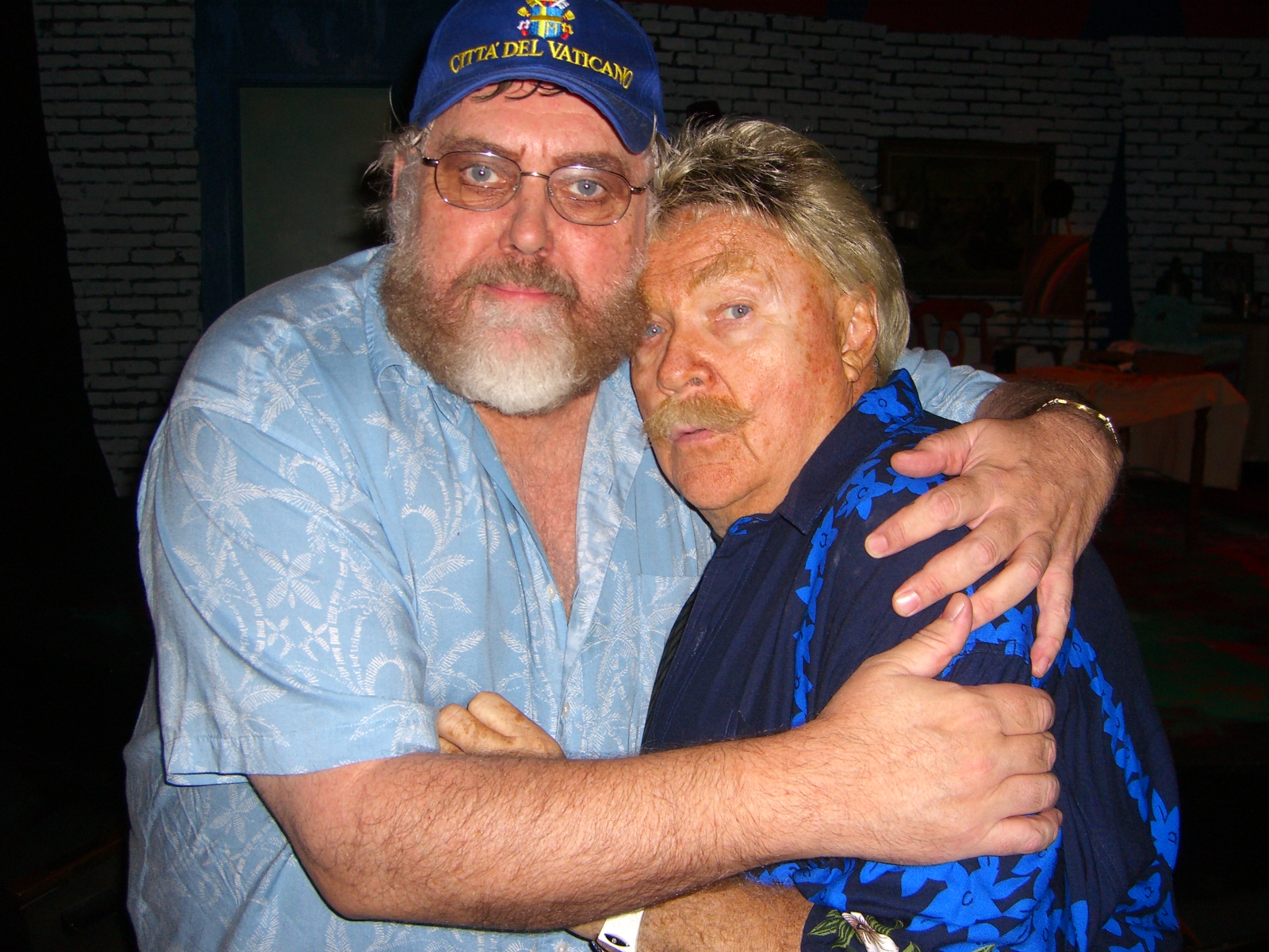 Jim Brochu, Rip Taylor