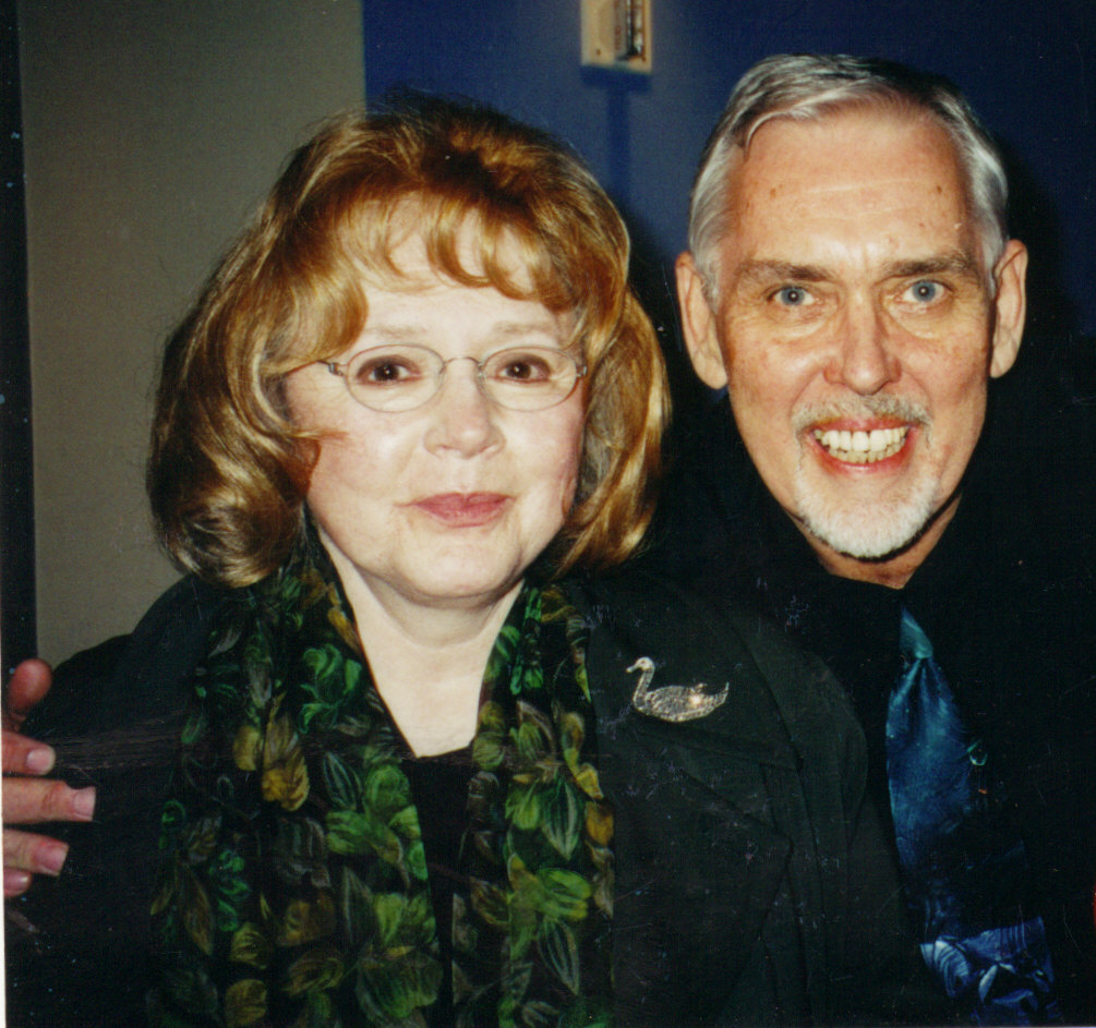 Piper Laurie and Jim Brochu